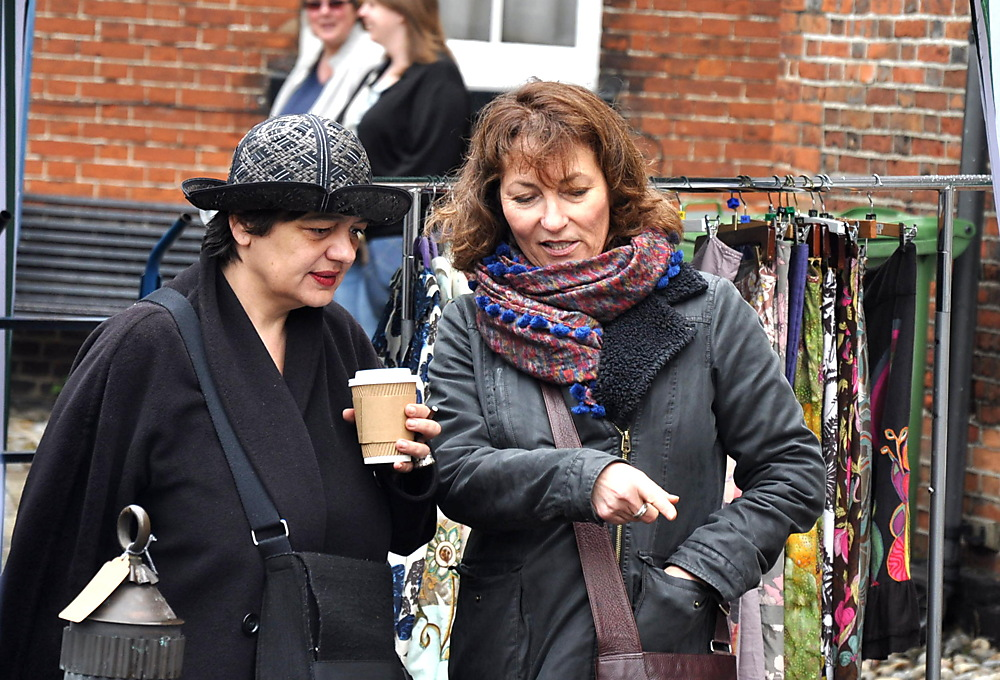 photoblog image Ladies at Bungay(Suffolk) street fair 3/4