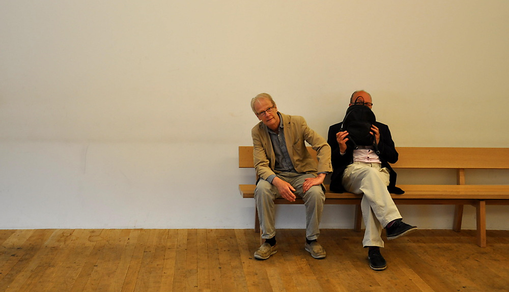 photoblog image Bench buddies at the Tate Modern 3