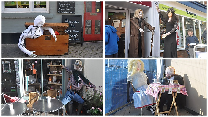 Weekend sundries: Halesworth Scarecrow week 1
